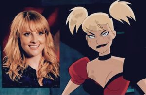 Melissa Rauch voz Harley Quinn