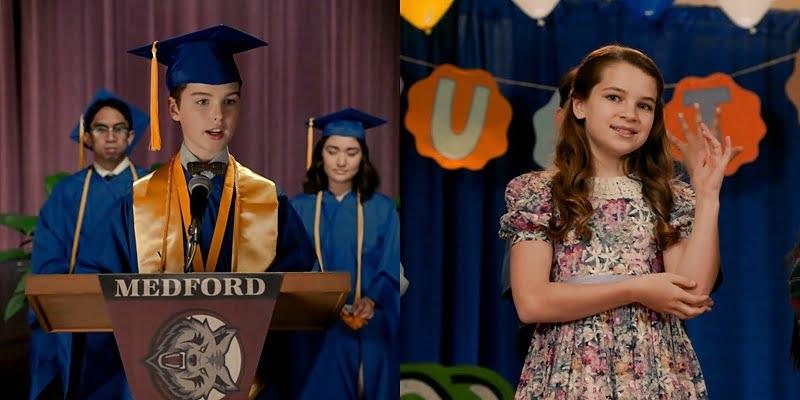 Sheldon y Missy se gradúan