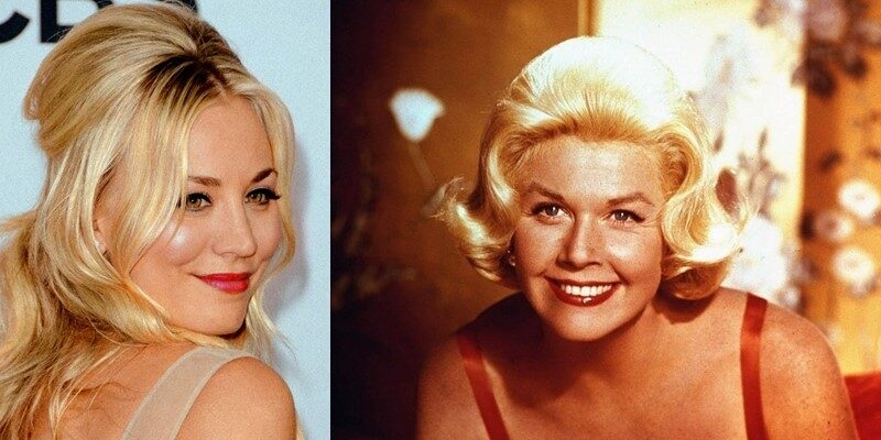 Kaley Cuoco y Doris Day