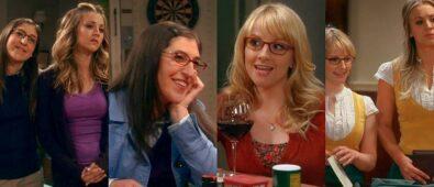 Bernadette vs Amy duelo de la mejor amiga de Penny