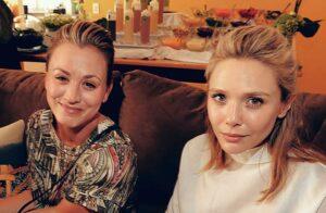 Kaley Cuoco y Elizabeth Olsen revela que está casada