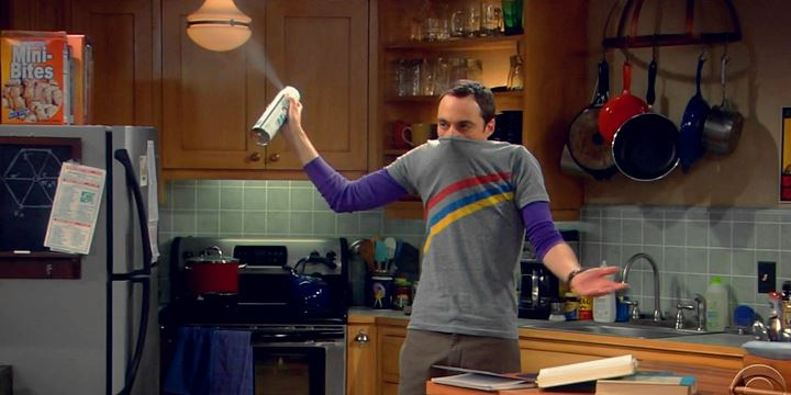 La germofobia de Sheldon Cooper